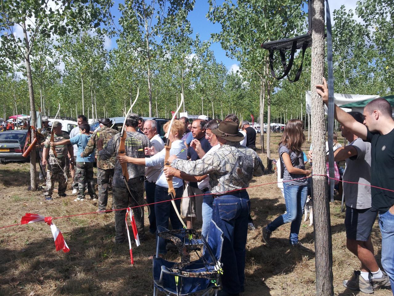 Fête de la chasse Castelnau Chalosse 2012