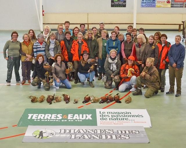 Journée des chasseresses à Vielle Tursan 2018